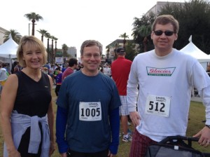Pictured from left to right: Dr. Skoog, Dr. Zitomer and Dr. Jones.